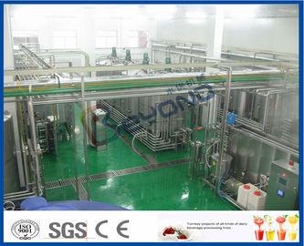 Chaîne de fabrication de jus de fruit