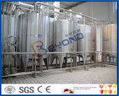 yaourt grec de la texture 2000LPH épaisse faisant l'équipement, 150 - fabricant industriel du yaourt 600kw