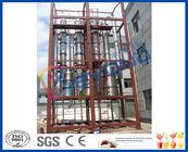 Chine Puissance évaluée totale multiple du vaporisateur 28KW d'effet de concentrateur de jus de pêche/pomme usine