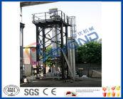 Chine Haut vaporisateur efficace d'effet multiple de la couche mince avec la conception de vaporisateur de film éraflée par centrifugeur usine