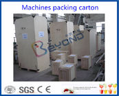 Automatic Double Stage Pulping Fruit Processing Equipment High Speed