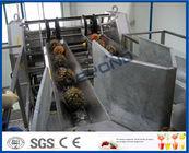 Chine Chaîne de fabrication de PLC d'ananas complètement automatique de contrôle pour les machines de développement de jus de fruit usine