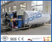 Chine L'acier inoxydable de refroidissement du lait échoue pour la taille adaptée aux besoins du client par lait frais de refroidissement/stockage usine