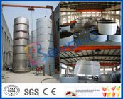 Large Outdoor Stainless Steel Storage Tanks / SUS304 SUS316 Stainless Steel Dairy Equipment