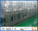 Full Auto CIP Cleaning Fruit Juice Manufacturing Plant With Fruit Juice Packaging Machine