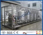 Chine Le PLC commandent le yaourt industriel faisant la machine pour le processus de fabrication de yaourt usine