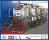 Chine 10m le ³ /H système de nettoyage du débit 1000L CIP pour OIN 9001/GV/CE d'installation de transformation de lait usine