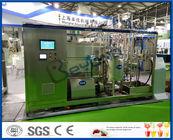10000L / Chaîne de fabrication de lait UHT de jour avec l'unité de traitement de lait 250 - 1000ml