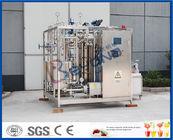 Les produits laitiers UHT traient l'usine de pasteurisation de lait de machine de pasteurisateur/pasteurisateur de Htst