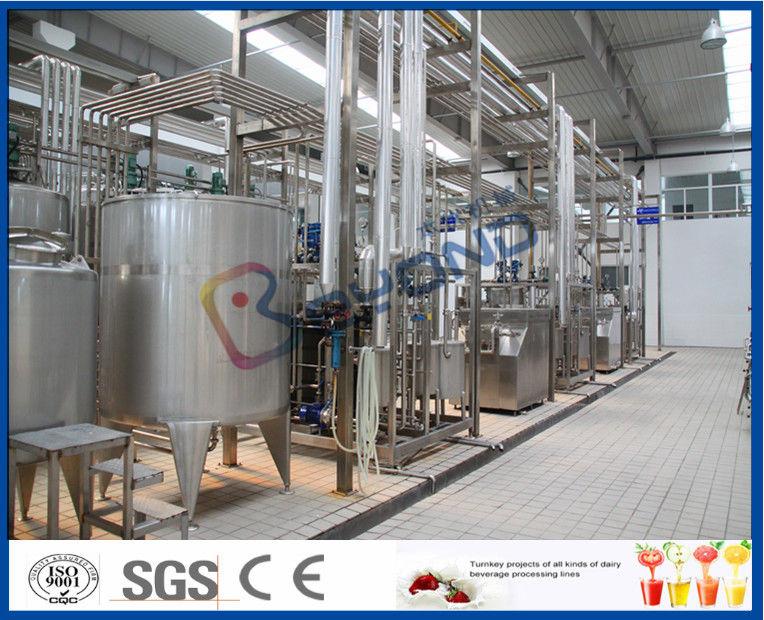 Cha ne de fabrication de lait uht 10000lpd pour le long lait de dur e de conservation lait pur - Duree conservation soupe maison ...