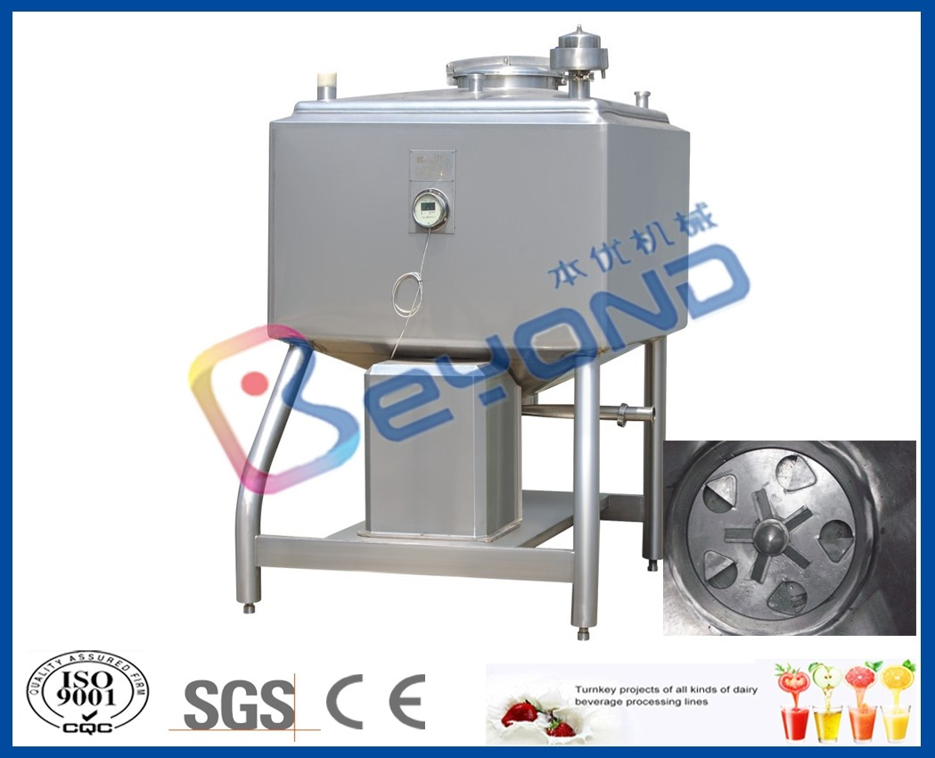 1440rpm Speed Stainless Steel Tanks For High Speed Emulsification Shearing