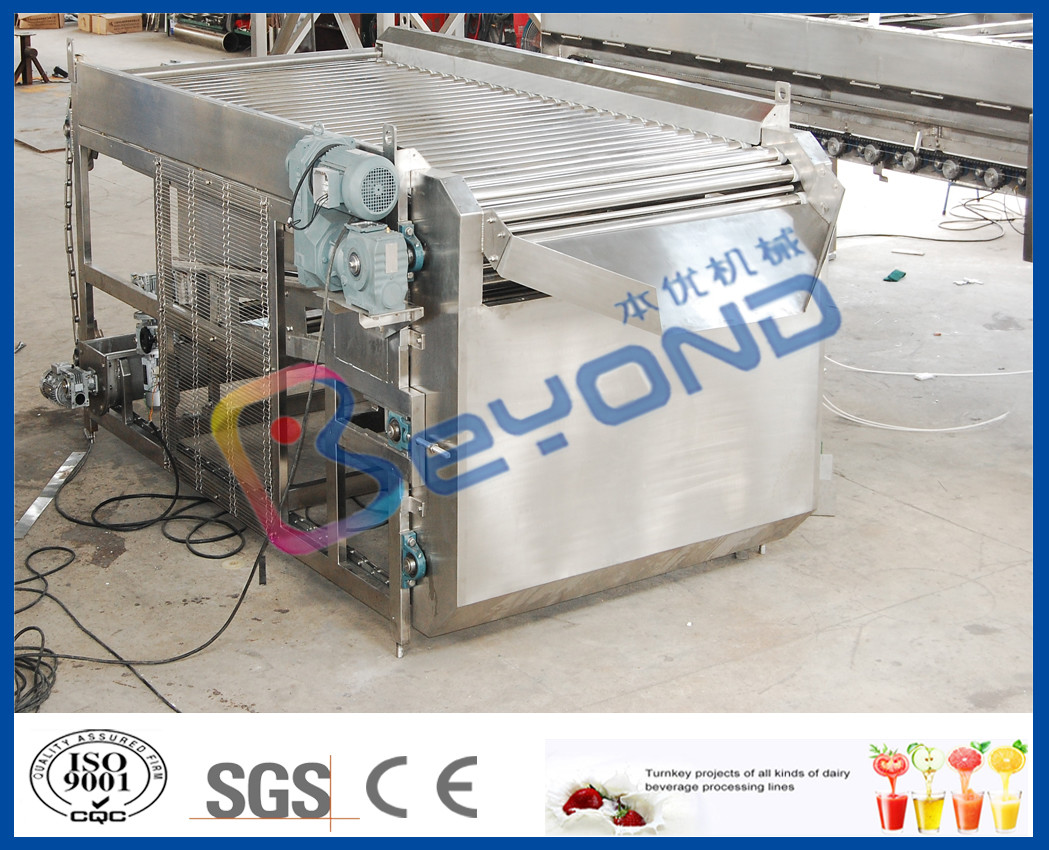 Stainless Steel Fruit Sorting Machine , Energy Saving Fruit Grading Machine