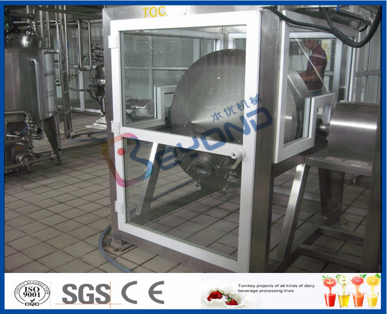 ISO Electric Butter Maker Butter Making Equipment With Bottle Packing Machine