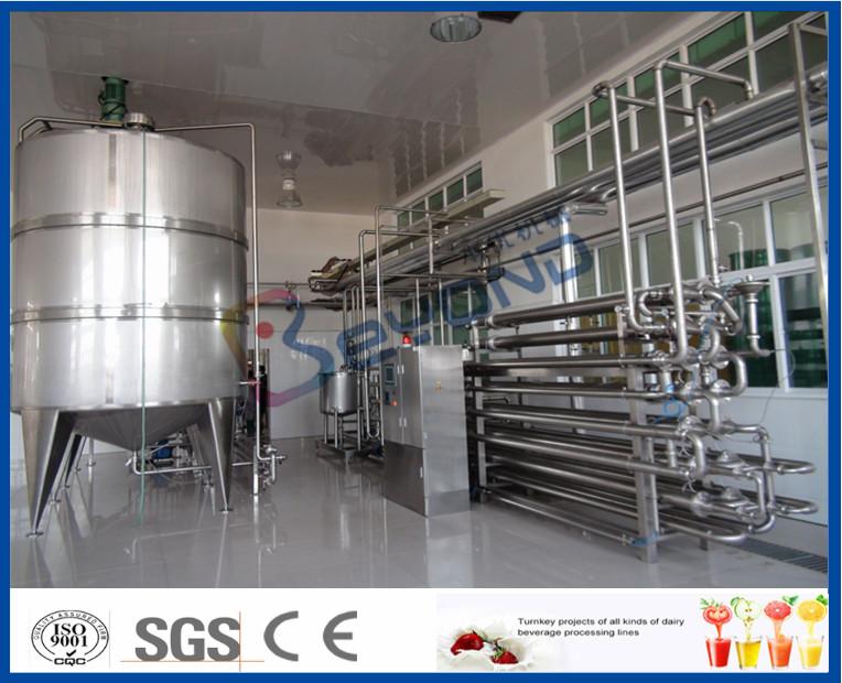 Aseptic Procedure Milk Pasteurization Equipment For Milk Processing Plant