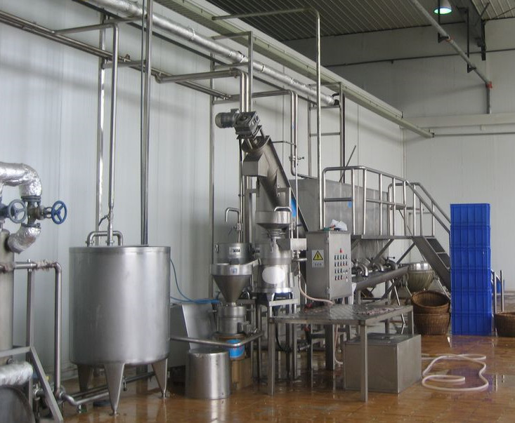 SUS304 Auto Drink Making Machine / Soya Milk Plant With 6-9 Months Shelf Life