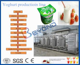 Type industriel équipement de production de yaourt, machines de production laitière de la CE