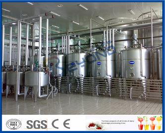 Yaourt industriel complètement automatique faisant la machine pour le projet 2000L - 20000LPH d'installation laitière