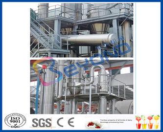 Full Auto/vaporisateur semi automatique de l'effet 15TPH multiple pour le concentrateur de jus d'ananas