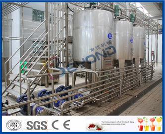 Rendement élevé automatique d'installation de fabrication de lait d'usine de laiterie de l'acier inoxydable SUS304