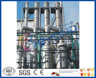 Système multiple industriel du vaporisateur SUS304, vaporisateurs multi à couche descendante d'effet
