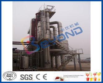 Vaporisateur à circulation forcée d'effet multiple avec le matériel de l'acier inoxydable SUS304/SUS316