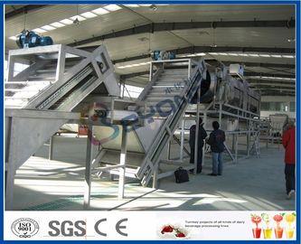 SUS304/SUS316L accomplissent la chaîne de fabrication d'Apple, équipement de jus de fruit