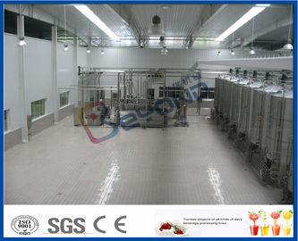 Yaourt industriel de SUS304 10000LPD faisant la machine pour le procédé de fabrication de yaourt