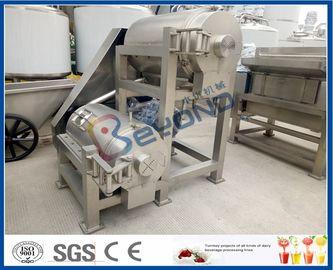 Double machine de réducteur en pulpe de fruit d'étape, mangue réduisant en pulpe les machines industrielles de presse-fruits