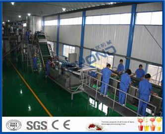 65 - Chaîne de fabrication d'Apple de jus de fruit de machine de 72 Brix avec le système de l'individu CIP
