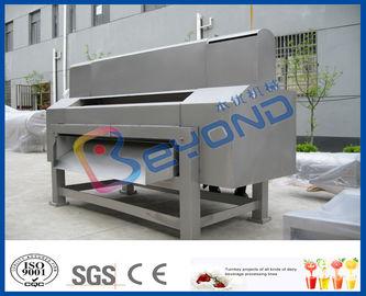 installation de fabrication complètement automatique à grande vitesse d'ananas de 5TPH SUS304 pour la machine de fabricant de jus