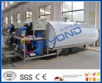L'acier inoxydable de refroidissement du lait échoue pour la taille adaptée aux besoins du client par lait frais de refroidissement/stockage