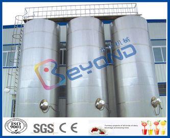 Grand équipement de laiterie extérieur d'acier inoxydable des cuves de stockage d'acier inoxydable/SUS304 SUS316