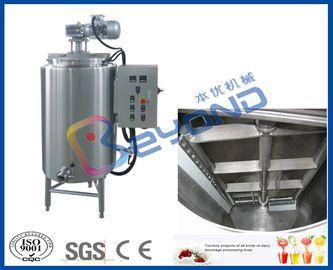Réservoir de stockage électrique de chocolat de contrôle, réservoir de catégorie comestible de l'acier inoxydable SUS304