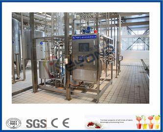 Équipement de pasteurisation de lait à échelle réduite SUS304, pasteurisateur de technologie de laiterie d'écran tactile de PLC