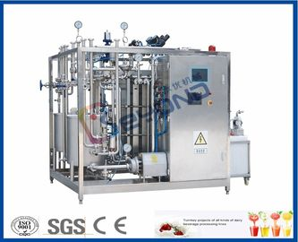 Installation de fabrication de lait du plat SUS304, machine de pasteurisateur de lait de contrôle de PID