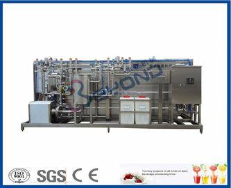 Contrôle automatique/semi automatique d'équipement de pasteurisation de lait de stérilisateur de remplissage à chaud