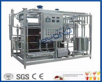 Trayez l'équipement de laiterie de pasteurisation pour l'installation de transformation de lait ISO9001/CE/GV