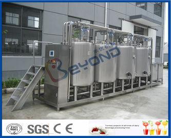 SUS316 SUS304 nettoyant le système en place de CIP pour le programme de nettoyage de Full Auto