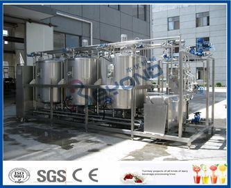 1000L - 10000L nettoyant le système en place, industrie laitière de systèmes de CIP avec 4 doubles circuits de réservoir