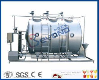Petit type conjoint système de nettoyage de 500LPH CIP pour l'industrie laitière de lait
