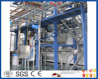 Usine carbonatée de boisson non alcoolisée de saveur de jus de fruit avec la machine de remplissage de soude de bouteille d'animal familier