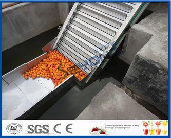Chaîne de fabrication orange 5000kg/heure d'installation de fabrication de jus de fruit d'ISO9001 CE/SGS