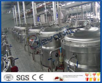 chaîne de production de boisson non alcoolisée de processus de fabrication de la boisson 12TPH non alcoolisée avec la machine de remplissage de boisson non alcoolisée