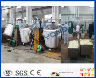 Beurrez le beurre de barattage de machine faisant l'équipement avec la matière première de lait de vache/lait de Buffalo