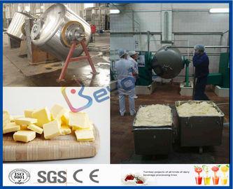 Machine intégrée de fabricant de beurre de lait de vache/lait de Buffalo pour le processus de fabrication de beurre