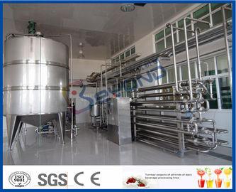Équipement aseptique de pasteurisation de lait de procédure pour l'installation de transformation de lait